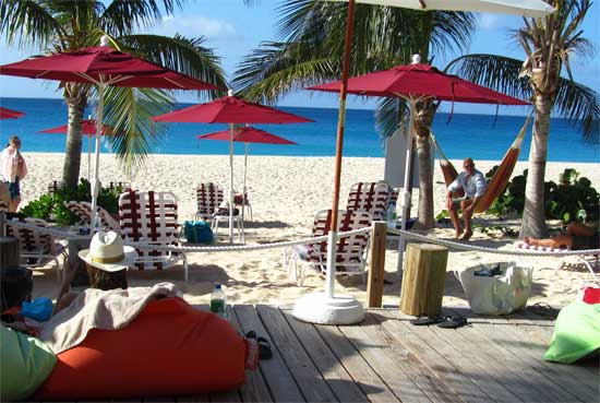 Jacala is one of Anguilla's best beach restaurants. It's a favorite spot for lunch.