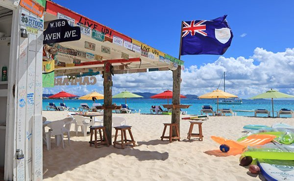 Sunset Shack is one of Anguilla's best beach restaurants. It's a favorite spot for lunch.