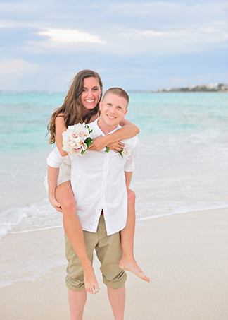 adam and nicoles barefoot beach wedding in anguilla