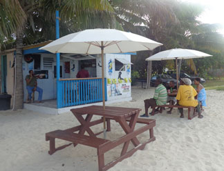 affordable Anguilla, Pelican Bar, Island Harbour, cheap eats