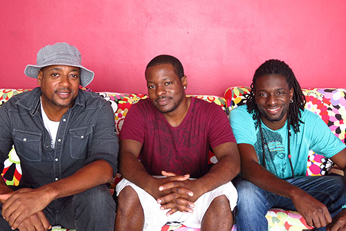 AIM band members ruel, cee will,