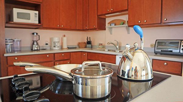 almond tree villa kitchen