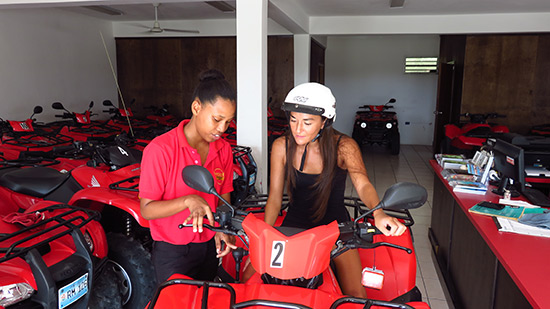meeting angella at freedom rentals anguilla
