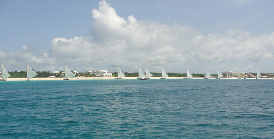 Anguilla Carnival August Thursday Boat race