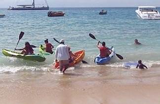 anguilla kayaking