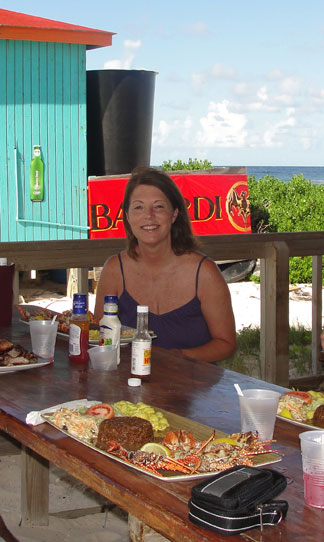 Anguilla activities, Sandy Island, Anguilla lunch