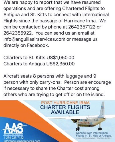 anguilla air services information