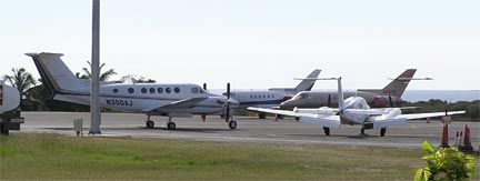 Anguilla Airport Private Jets