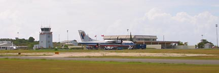 Wallblake Anguilla Airport