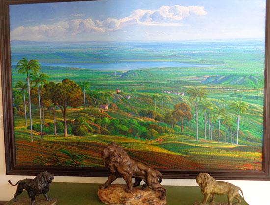 Anguilla art gallery, Pineapple Gallery, Jean-Adrien Seide, Haitian art
