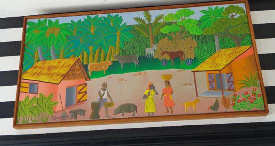 Anguilla art gallery, Pineapple Gallery, Philippe-Auguste, Haitian art