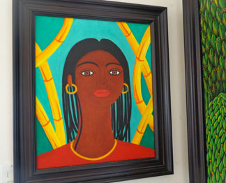 Anguilla art gallery, Pineapple Gallery, Philippe Manasse