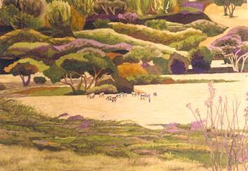 Anguilla Art - Lynne Bernbaum - August Funday