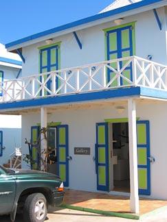 Anguilla Cheddie front door