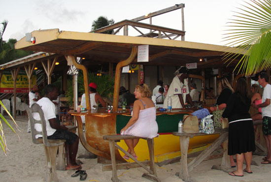 Anguilla beach bars, Elvis' Beach Bar