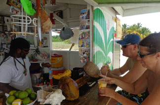 Anguilla beach bars, The Sunshine Shack, Garvey's
