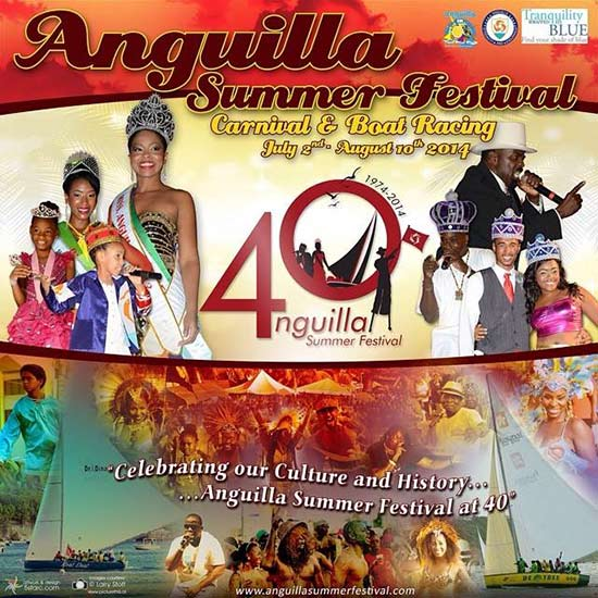 Anguilla Carnival Beach Party Concert
