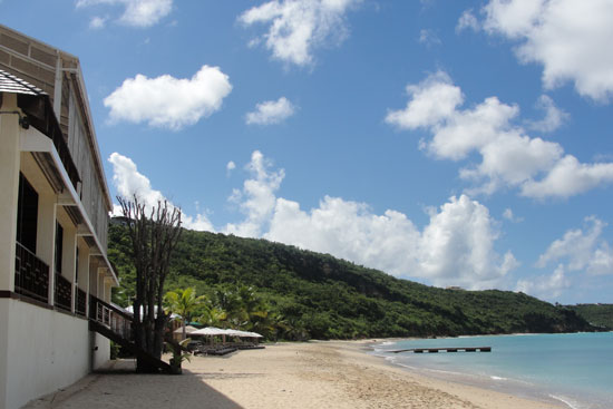 da'Vida beach restaurant on crocus bay anguilla