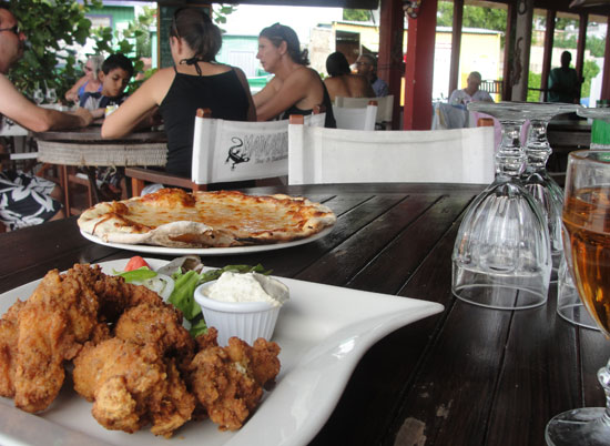 Madeariman, Shoal Bay East, Anguilla beach restaurants