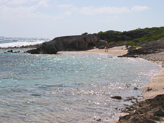 Anguilla beaches - Dropsey west