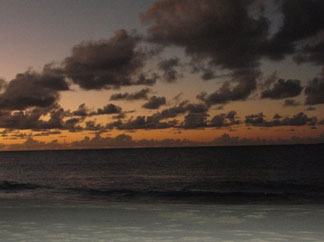 Anguilla beaches, Meads Bay, sunset