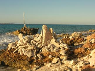 Anguilla beaches, Rendezvous Bay, Little Stonehenge