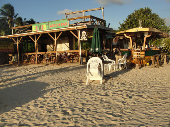 Anguilla beaches, Sandy Ground, Elvis Beach Bar