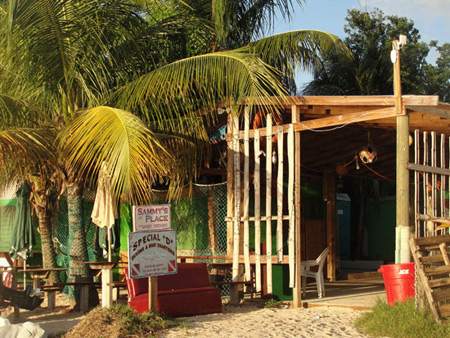 Anguilla beaches, Sandy Ground, Sammy's BBQ