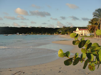 Anguilla beaches, Sandy Ground, beach walk