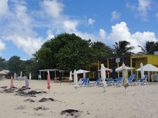 Anguilla beaches, Shoal Bay, Mac and Hanks Bar and Restaurant