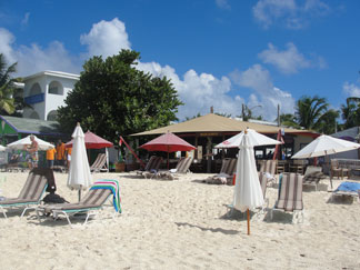 Anguilla beaches, Shoal Bay, Madeariman Bar and Restaurant