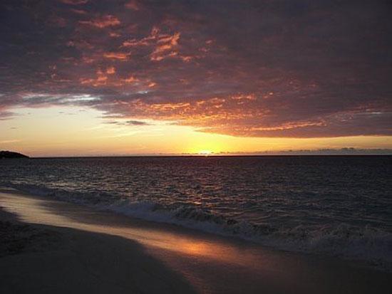Shoal Bay, Anguilla beaches, sunset