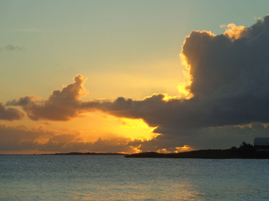 post-sunset at shoal bay west
