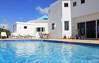 anguilla beaches villa pool view
