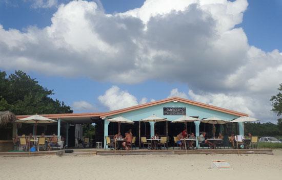 smokeys restaurant at cove bay beach