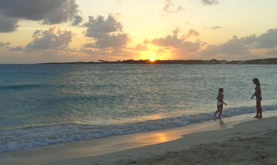 sunsets at cove bay