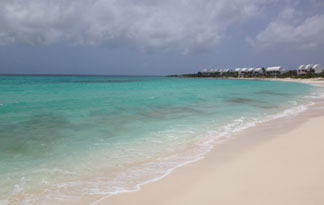 the white sands of shoal bay west