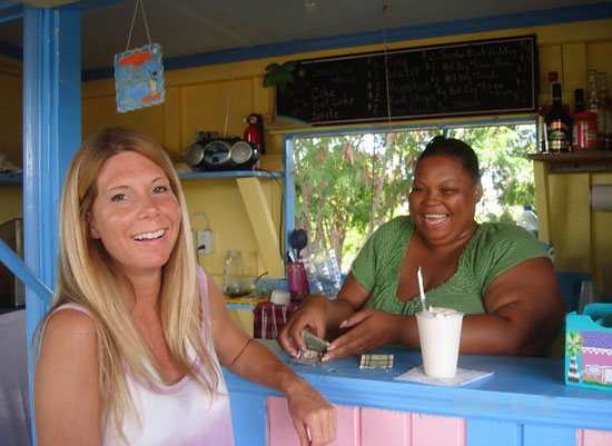 Anguilla, Sea Spray Smoothies and Gifts, Kristin Bourne