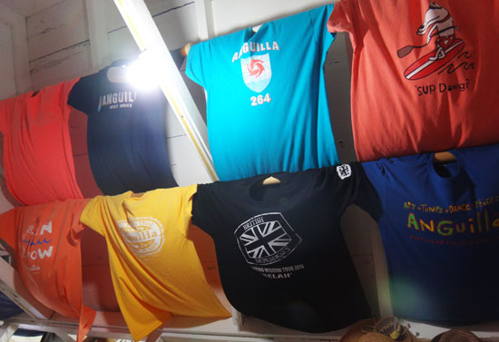 irie life t-shirts on display