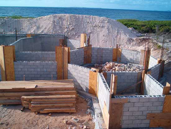 block walls formed