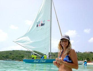 real deal sail boat anguilla