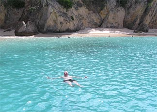 Anguilla waters at Little Bay