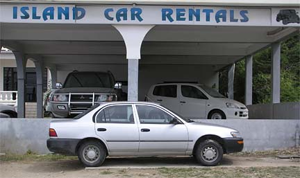 Anguilla car rental