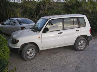Anguilla car rental 4x4