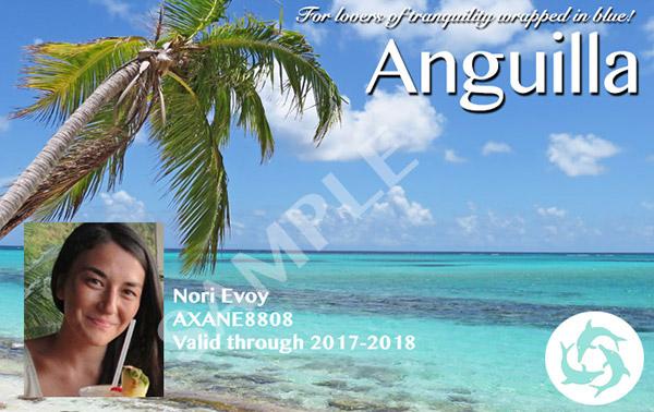 the anguilla card