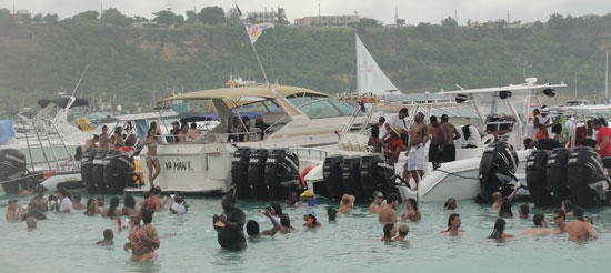 August Monday during Anguilla's Carnival