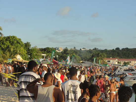 Anguilla Carnival Beach Party