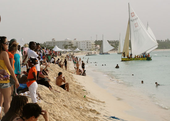 Anguilla Carnival, Anguilla Summer Festival, Meads Bay, August Thursday, Boatrace