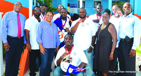 chef dean samuel and gold plate winning chefs at 2013 competition