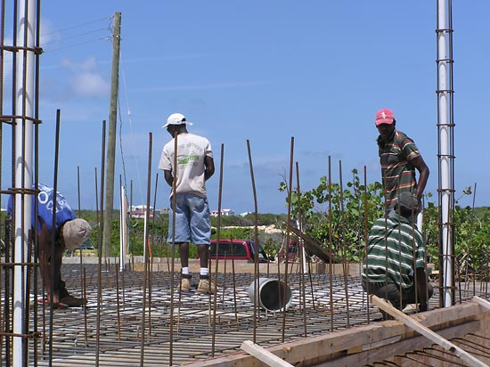 anguilla concrete work